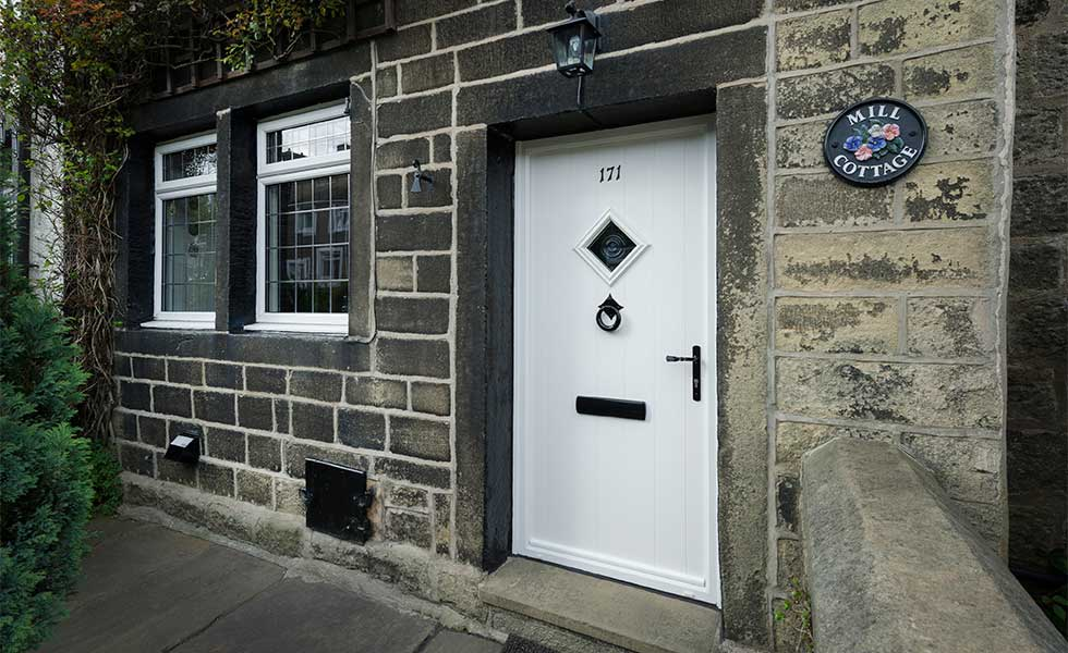 increase curb appeal with a front door