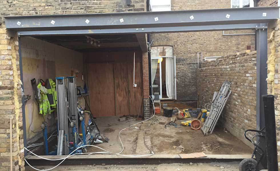 Side return Extension To Terraced Home Real Homes