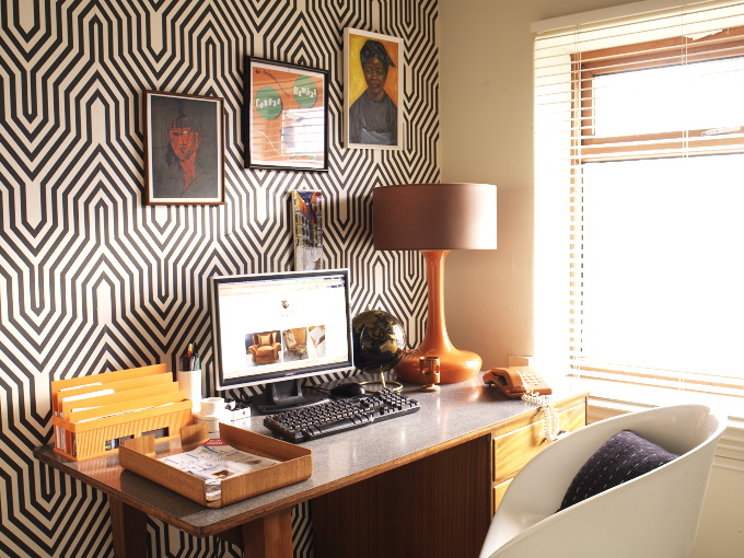 How to create a Mid-century home office