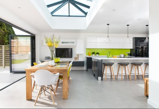 You Hate Fuss And Clutter So A Clean Simple Kitchen Is The Perfect Choice Be Inspired By Scandi Style Choose Handleless White Units With Accents Of