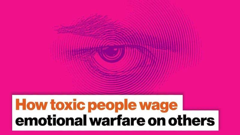 Psicologia. Come le persone tossiche dichiarano guerra emotiva agli altri | Big think
