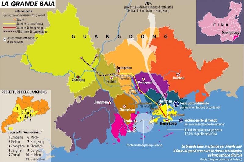 L'importanza finanziaria di Hong Kong per la Cina | Limes