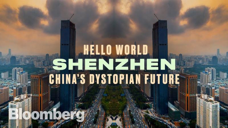 Cina. Un viaggio all'interno della loro distopia hi-tech | Bloomberg