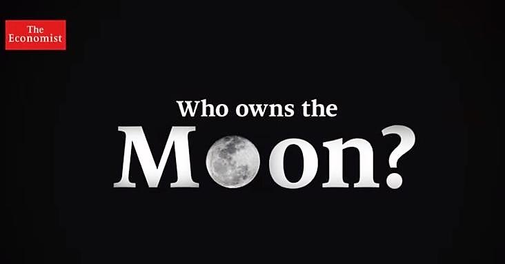 Luna. Chi, se qualcuno, la possiede? | The Economist