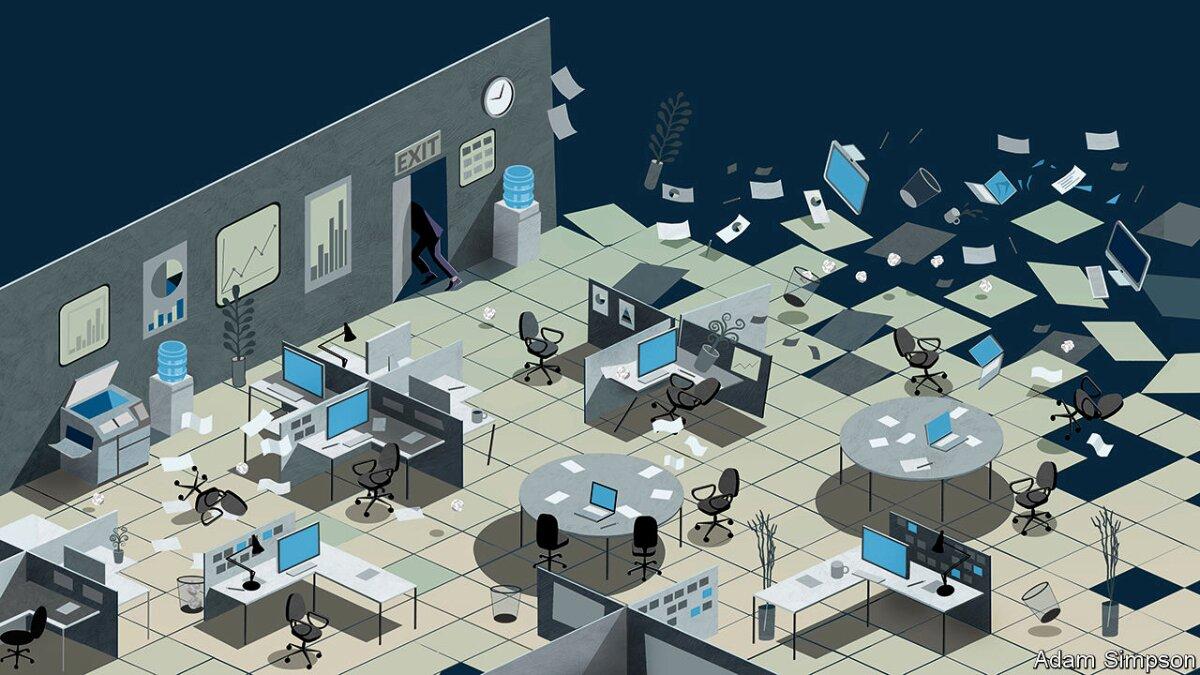 Covid-19: lavorare da casa è davvero la nuova normalità? | The Economist