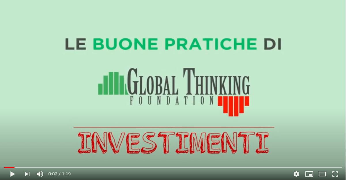 Le 10 cose da sapere prima di decidere un investimento | Global Thinking Foundation