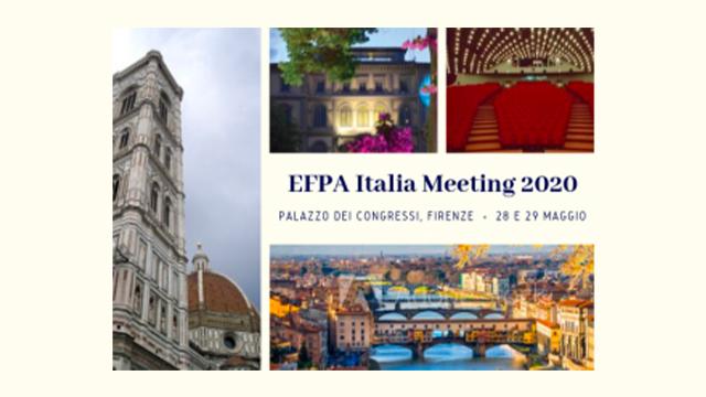 EFPA Italia Meeting 28/29 Maggio