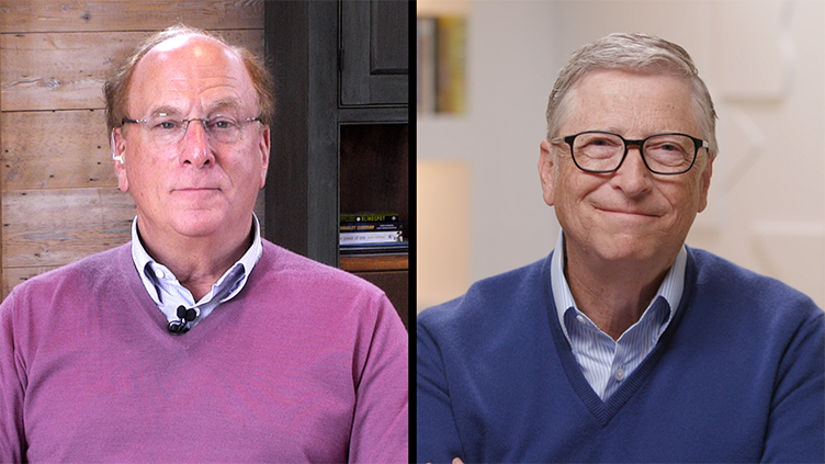 Larry Fink e Bill Gates sulla strada verso zero emissioni | BlackRock