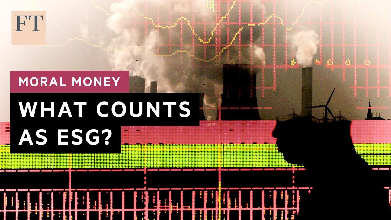 Cosa significa davvero ESG-friendly? | FT
