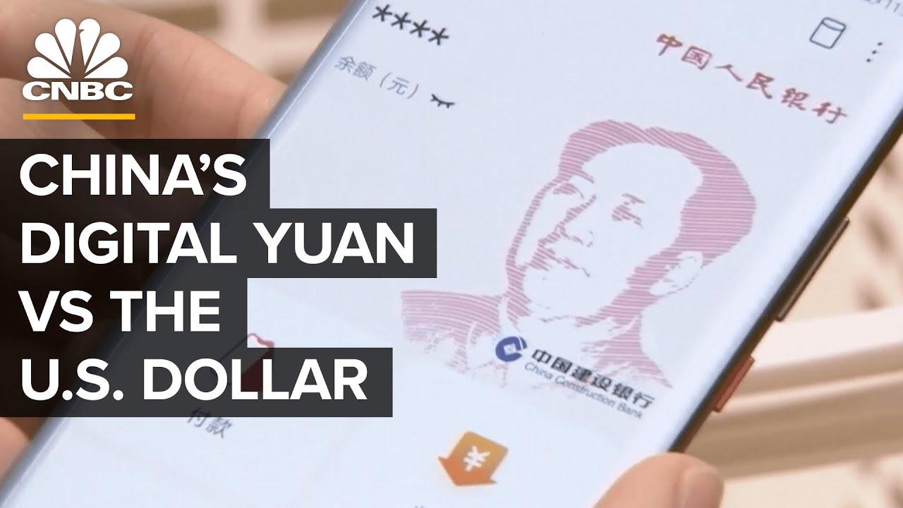 La Cina potrebbe detronizzare il dollaro americano con uno yuan digitale? CNBC