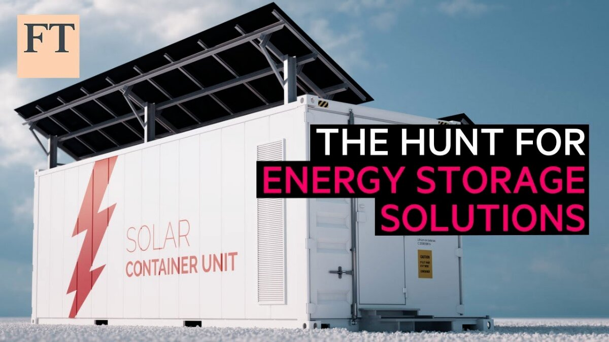 Batterie migliori: la caccia a una soluzione di stoccaggio dell'energia | FT