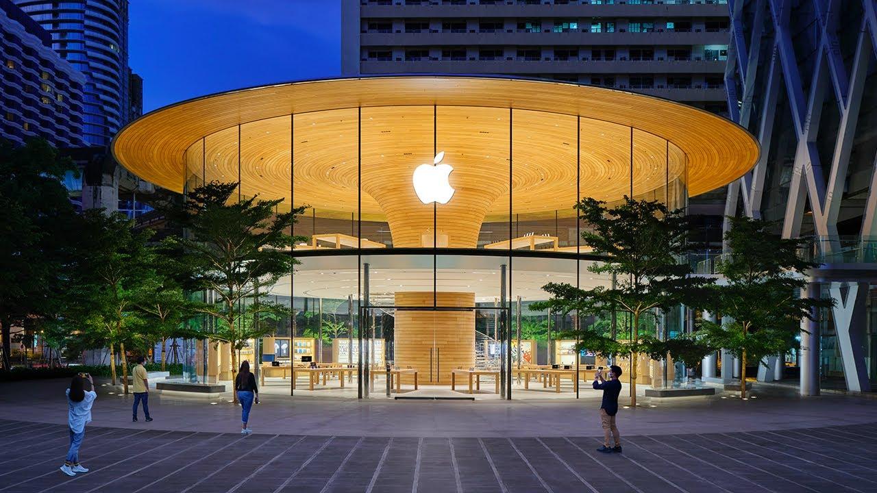 Come Apple costruisce i propri negozi   TheB1M