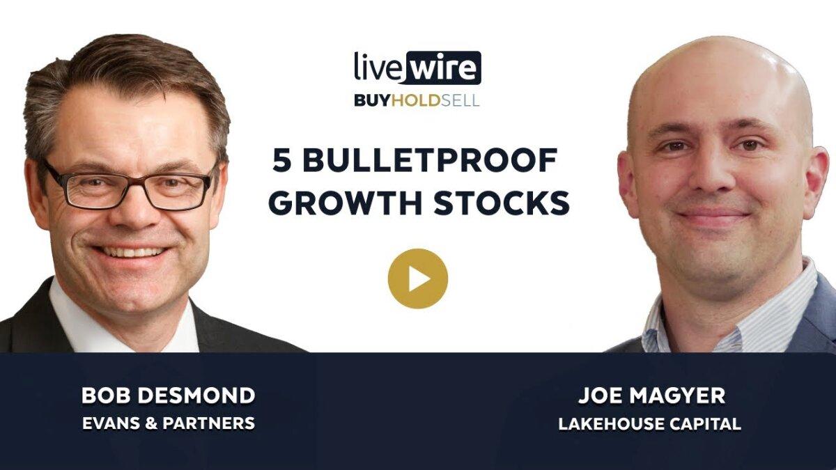 Comprare Tenere Vendere: 5 azioni di crescita a prova di proiettile