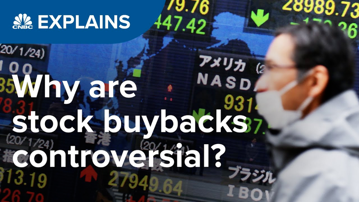 Perché i buyback sono controversi? | CNBC
