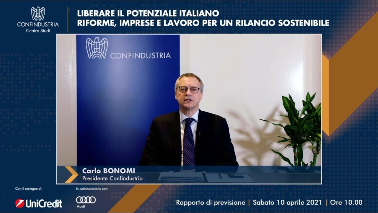 Presentazione Rapporto Centro Studi Confindustria economia italiana primavera 2021