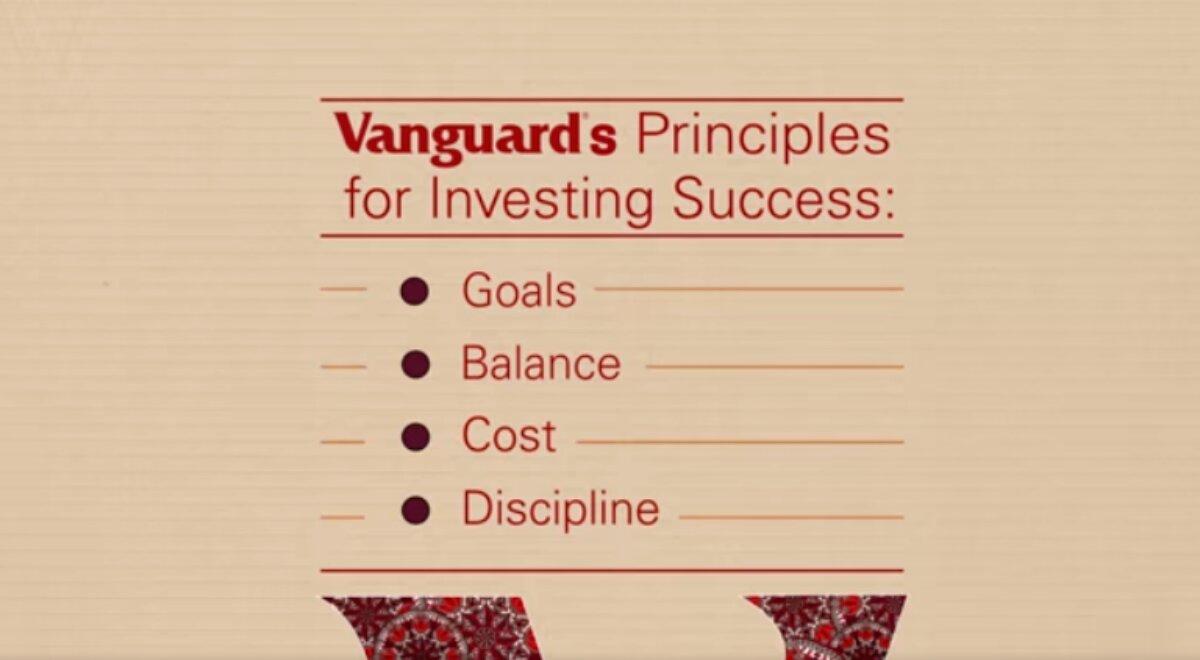 I principi di Vanguard per il successo degli investimenti