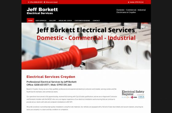 Jeff Borkett Electricians
