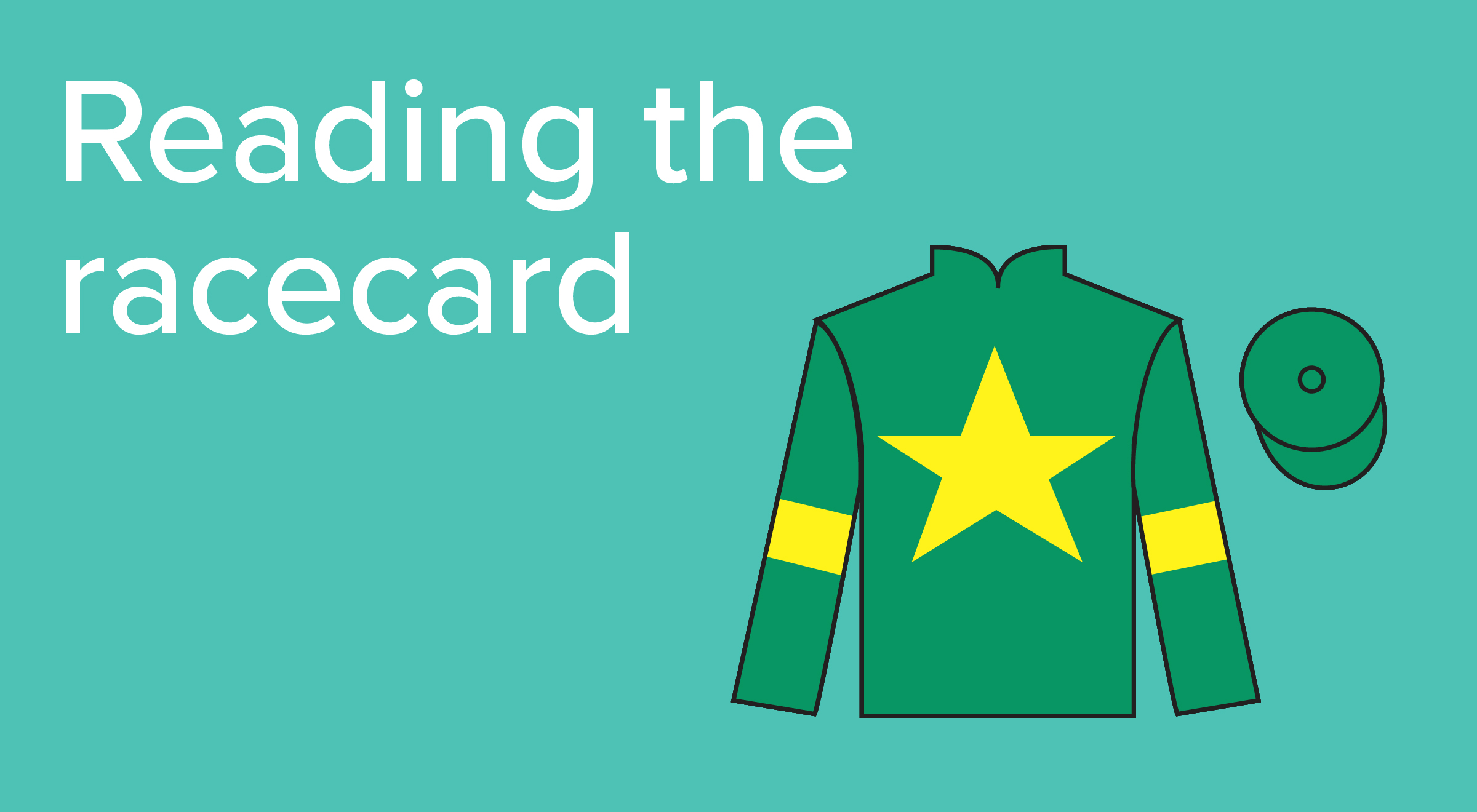How to read the racecard - Guide to Horse Racing