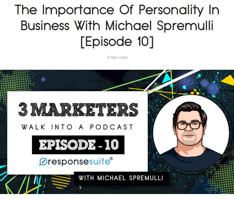 3 marketers michael spremulli