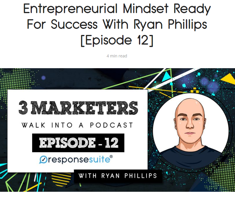 3 Marketers Podcast Ryan Phillips