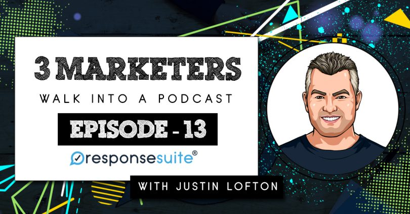 3 MARKETERS - JUSTIN LOFTON