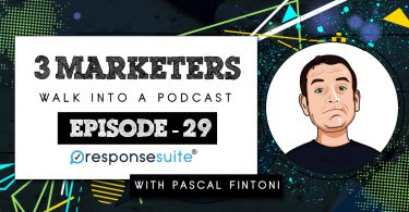 3 MARKETERS PODCAST - PASCAL FINTONI