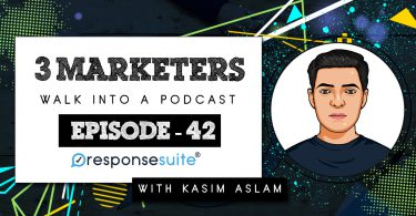 3 MARKETERS - KASIM ASLAM