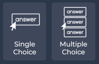 Button Answer Types