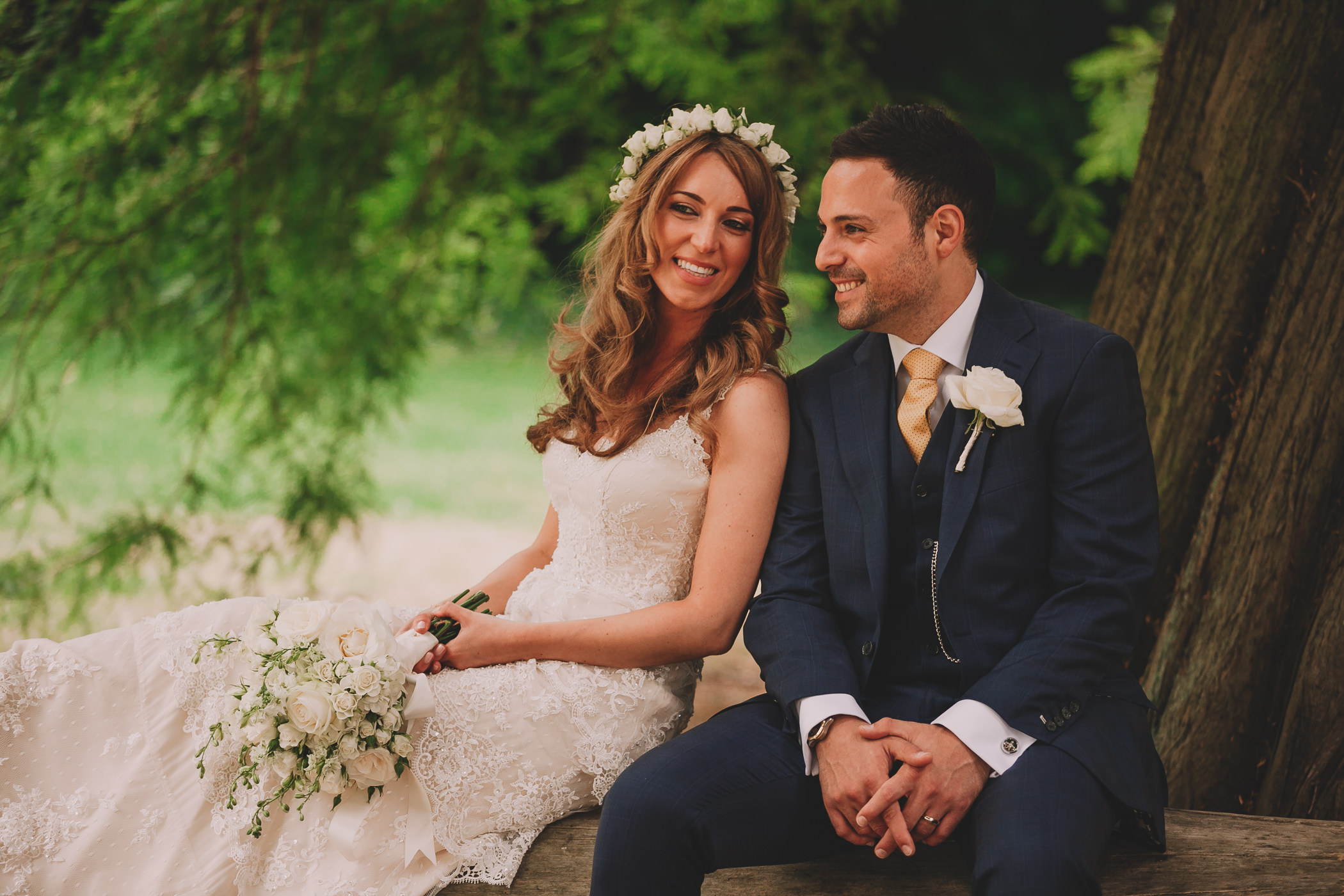 wedding photography of the bride and groom at syon park isleworth