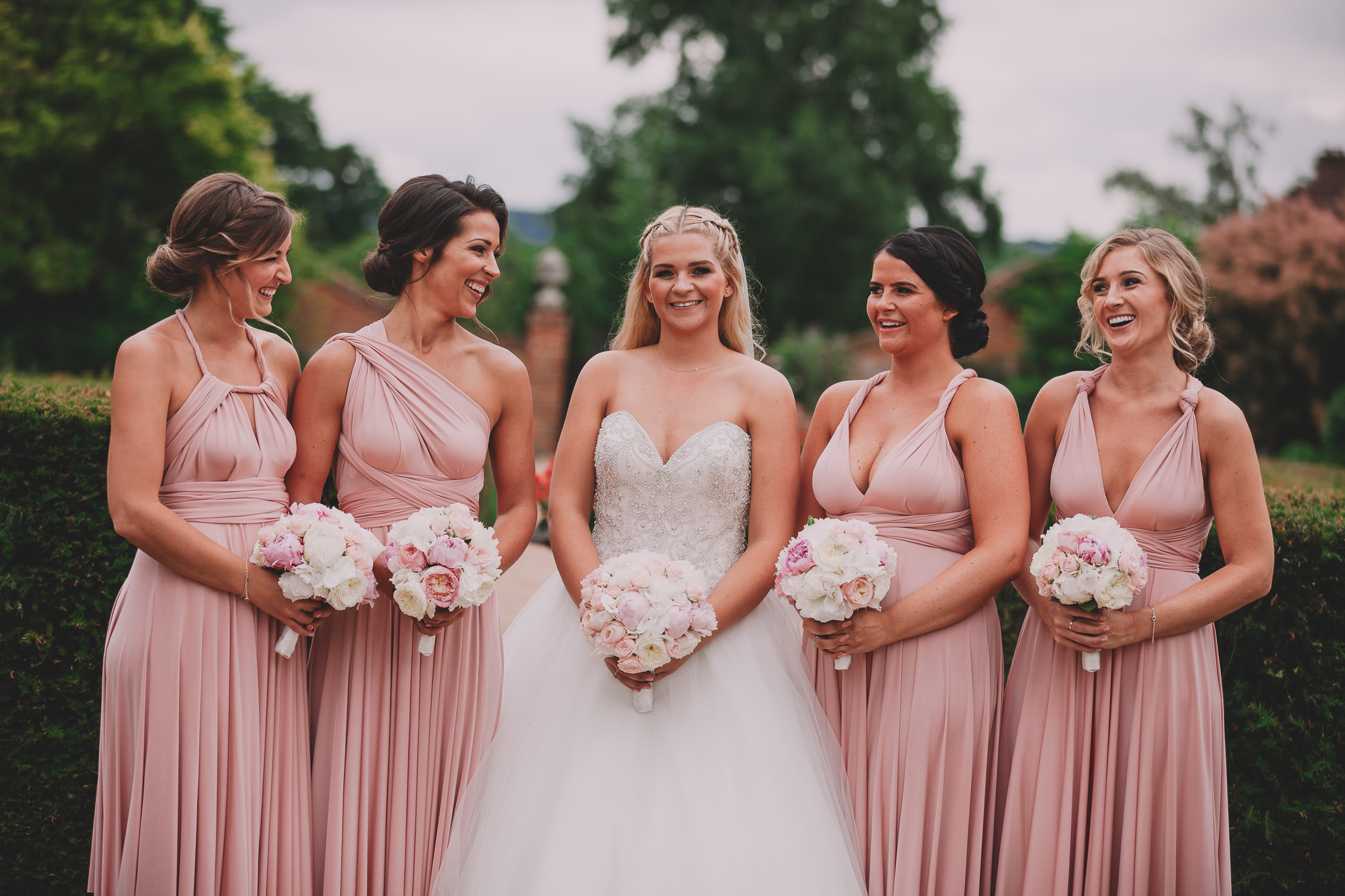 wedding photography at the four seasons hotel Hampshire bride and groom