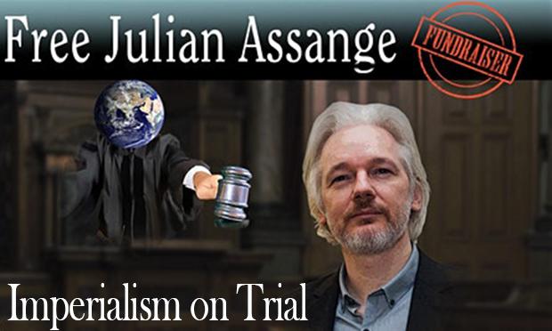 Imperialism on Trial - Free Julian Assange