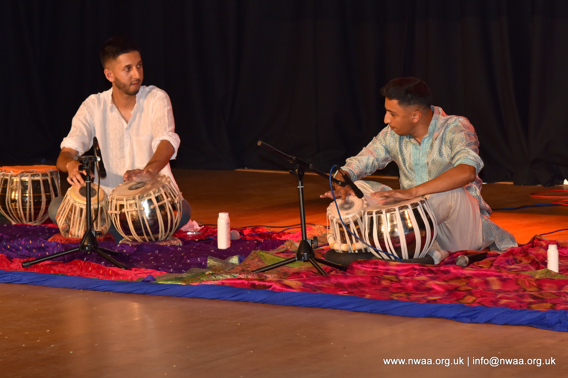 Rhythm of India 2018 - Hiten Solanki and Akash Makwana Tabla
