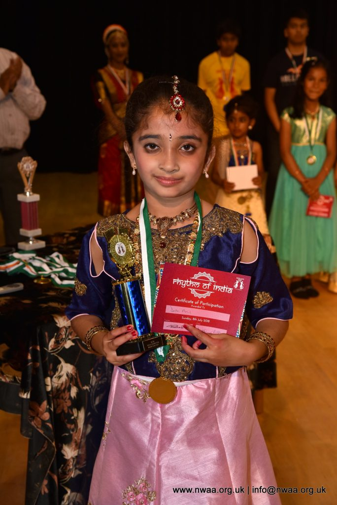 North West Asian Arts -  Rhythm of India 2018 - Shima Awards