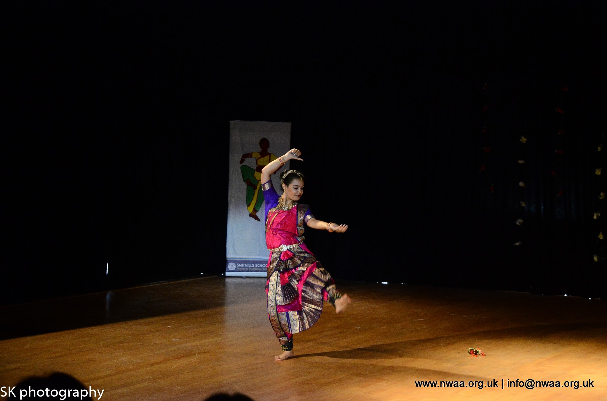 North West Asian Arts - Rhythm of India 2016 - Bharatanatyam in Bolton, Manchester