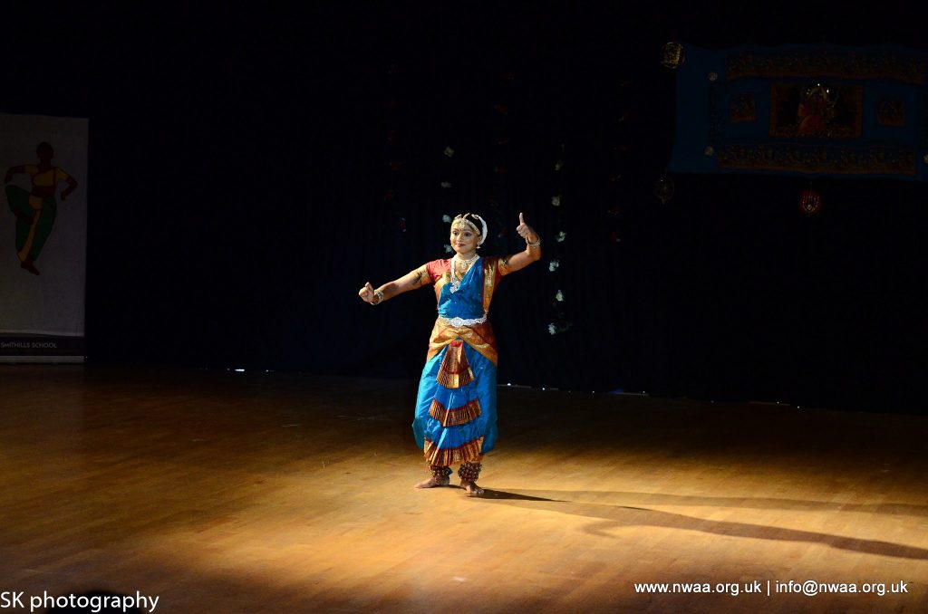 North West Asian Arts - Rhythm of India 2016 - Manisha Solanki - Bharatanatyam