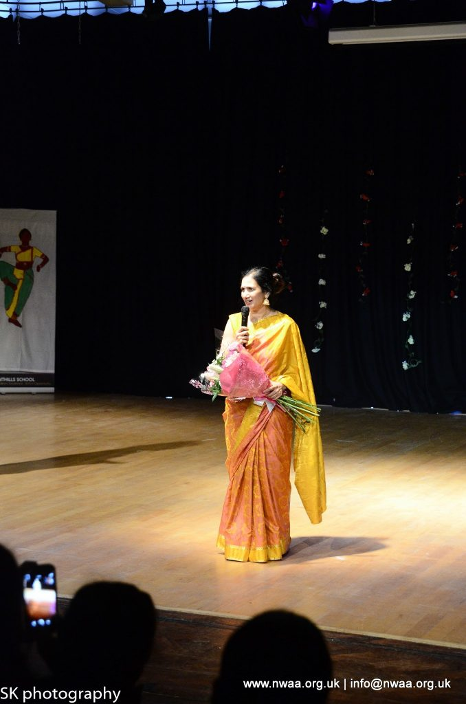 North West Asian Arts - Rhythm of India 2016 - Dr Swati Raut