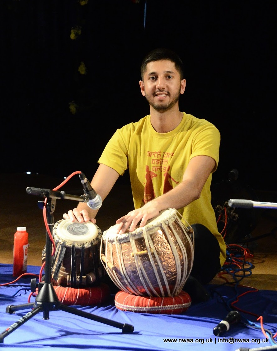 North West Asian Arts - Rhythm of India 2016 - Akash Makwana - Tabla