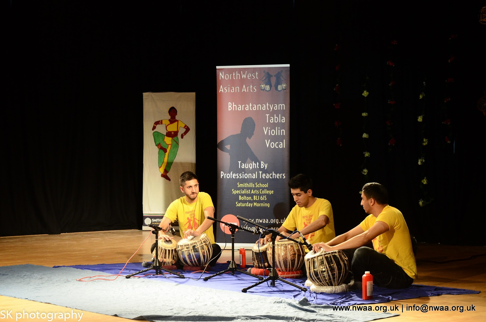 North West Asian Arts - Rhythm of India 2016 - Tabla
