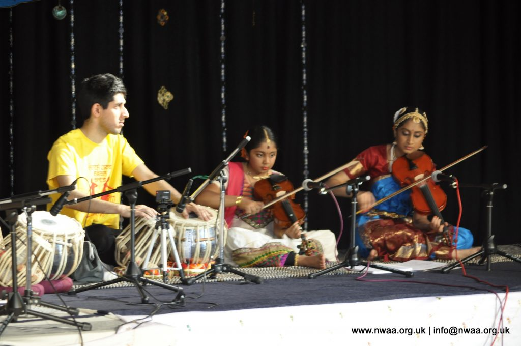 North West Asian Arts, Bolton, Tabla and Violin