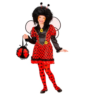 LADYBUG (dress wings antennas) Childrens