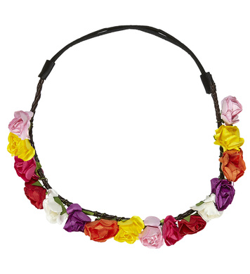 FLOWER HEADBAND - MULTI