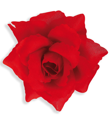 RED ROSE HAIRCLIP