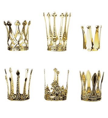 CROWN ALUMINIUM - GOLD - 6 styles