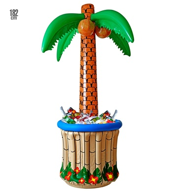 INFLATABLE PALM TREE COOLER 182 cm