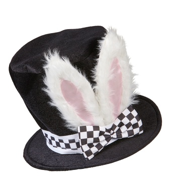 TOP HAT WITH BENDABLE BUNNY EARS