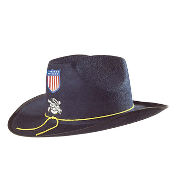 FELT CIVIL WAR UNION GENERAL HAT BLUE