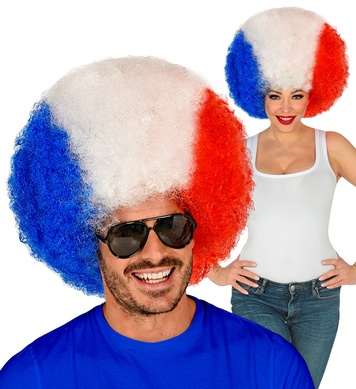 FRANCE CURLY WIG in polybag