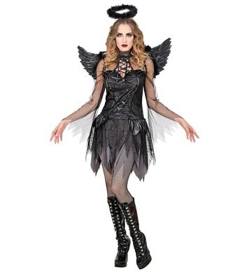 DARK ANGEL (dress, wings, halo)