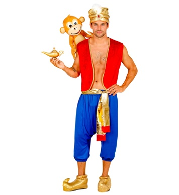 ALADDIN (vest, pants, sash, turban)