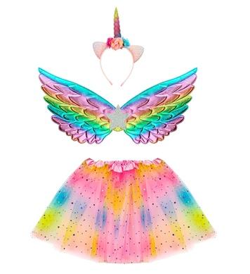 UNICORN (tutu, wings, headpiece)